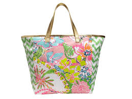 lilly pulitzer tusk in sun elephant insulated lunch tote bag water