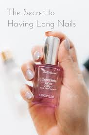 the secret to having long nails u2013 hey wendy vanessa