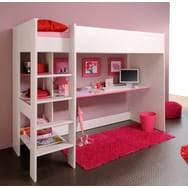 lit surélevé avec bureau lits mezzanine enfant et lits bureau pas cher à prix auchan