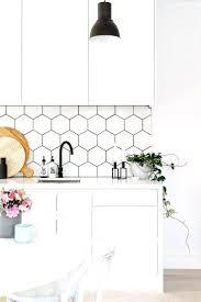 houzz kitchen tile backsplash kitchen white kitchen the minimalist