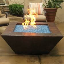 coffee table wonderful rectangular fire pit fire table propane