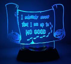 harry potter night light marauders map led nightlight or desk l harry potter
