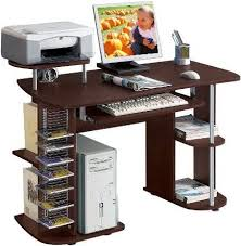 computer and printer desk for computer and printer