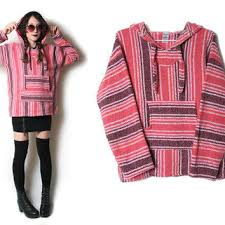 Mexican Rug Sweater Best Vintage Baja Products On Wanelo