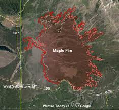 Wild Fire Update Montana by Yellowstone National Park U2013 Wildfire Today