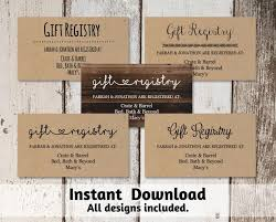 s bridal registry 28 inspirational wedding registry cards wedding idea