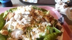 Six Flags Meal Pass Chicken Caesar Salad At Mooseburger Lodge Six Flags Great America