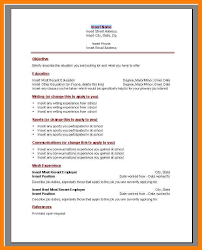 resume template for word 2007 full image for resume template