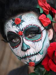 Skeleton Face Painting For Halloween by Sugar Skull Face Painting Google Search Face And Body