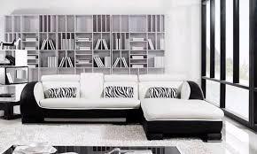 canapé d angle blanc et noir canapé d angle cuir xenon 2 canapé d angle blanc et noir en cuir