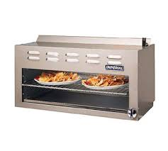 imperial convection oven pilot light imperial icma 36 elite cheesemelter 36 in