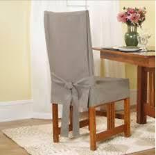Linen Chair Slipcover Dining Chair Slipcover Ebay