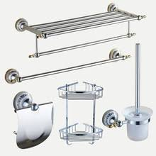 popular silver bathroom accessories buy cheap silver bathroom