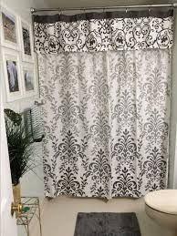 bathroom ideas with shower curtain no sew shower curtain valance in no time hometalk