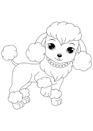 Cute Dogs Coloring Pages Free Printable And Puppies For Kids Coloring Page Dogs