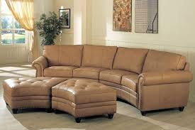 Curved Sectional Sofa Leather Fabulous Curved Leather Sofas Furniture On Pinterest Curved Sofa