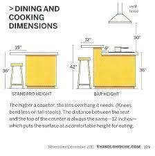Kitchen Island Dimensions Standard Stool Dimensions Bar Stool Dimensions Standard S Standard
