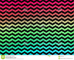 Ombre Background Ombre Wavy Chevrons On Black Background Stock Illustration Image