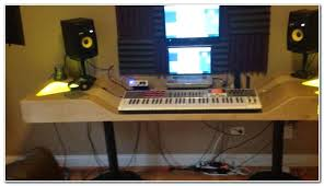 recording studio desk home recording studio desk plans recording