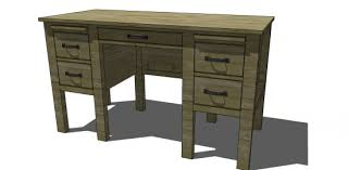 Desk Diy Plans Free Diy Furniture Plans To Build A Rh Baby Child Inspired Finn