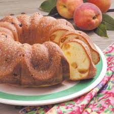 peach pound cake recipe taste of home