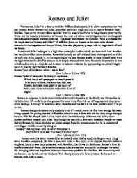 Juliet Essay Romeo And Juliet Essays On Fate Essays On Dowry Essays Romeo And Juliet Powerpoint Template