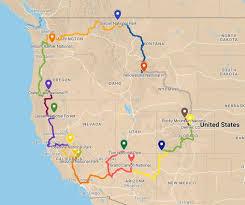 Grand Canyon National Park Map National Park To Park Tour River Pilot