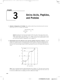 solutions ch 03 amino acid acid dissociation constant