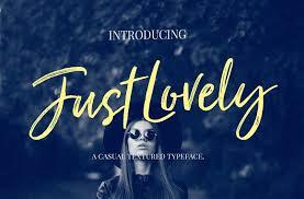 just lovely font u0026 extras script fonts creative market