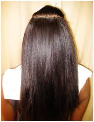 sewed in hair extensions sew micro beaded weft hair extensions melbourne