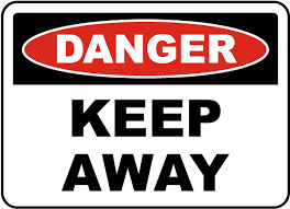 danger keep out signs for property security usa made