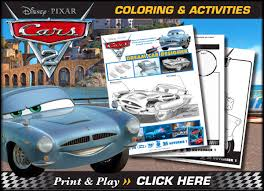 free disney cars printable coloring pages u0026 activity sheets