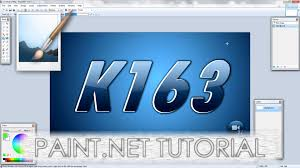 paint net tutorial number 123 cool italic radial fade and