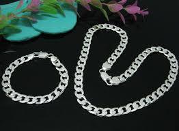 silver necklace bracelet set images Aliexpress mobile global online shopping for apparel phones jpg