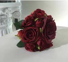 burgundy roses vanrina maroon flower bouquet burgundy flower