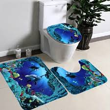 Bathroom Rugs Ideas Popular Blue Bath Rug Buy Cheap Blue Bath Rug Lots From China Blue