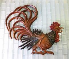 metal kitchen wall art kitchen ideas metal rooster wall decor