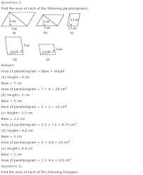ncert solutions for class 7th maths chapter 11 perimeter and area