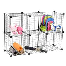 wire storage cubes maidmax free standing modular shelving units