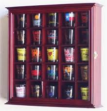 pint glass display cabinet 25 shot glass display case cabinet custom display case