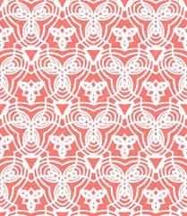 site deco vintage padrão de arte deco vector vintage em coral vermelho u2014 vetor de