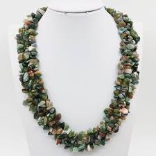 beads necklace india images India onyx carnelian stone irregular beads rows necklace chain jpg