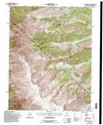 National Forest Map Colorado by Boundary Peak Topographic Map Nv Ca Usgs Topo Quad 37118g3