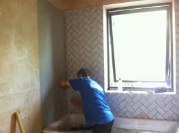 future simple passive bathroom installation