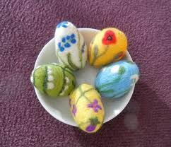 felted easter eggs 57 best needle felted easter images on easter eggs