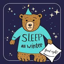imagenes animadas oso personaje de dibujos animados del oso de brown duerme todo el