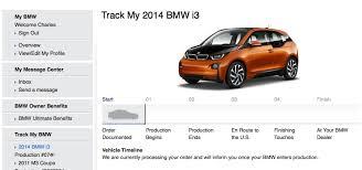 track my bmw bmwblog orders a bmw i3