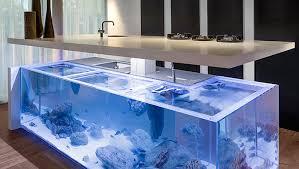 designer aquarium kolenik s kitchen turns your kitchen workspace into a
