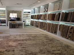 j d staron opens new showroom in la cover magazine carpets