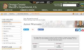 do bench warrants show up on background checks orange county warrants search for outstanding arrest warrants in